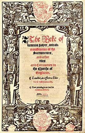 Cover 1552 Book Of Common Prayer